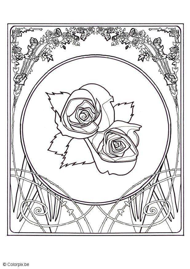 Dibujo Para Colorear Rosas Img 5658 Images