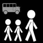 Salir del colegio - autobús