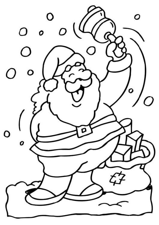 Dibujo Para Colorear Santa Claus Img 6517