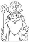 Dibujo para colorear Sinterklaas