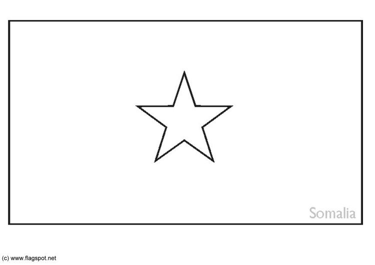 Dibujo para colorear Somalia - Img 6258