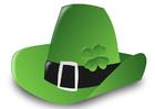 Imagen sombrero del Día de San Patricio
