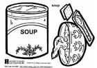 Dibujo para colorear Sopa