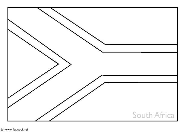 Dibujo para colorear Sudáfrica - Img 6268