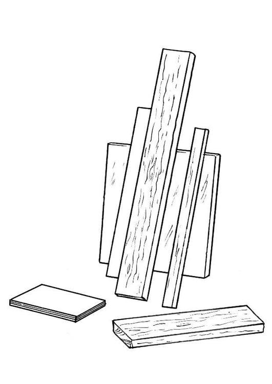 Dibujo Para Colorear Tablas De Madera Img 8206