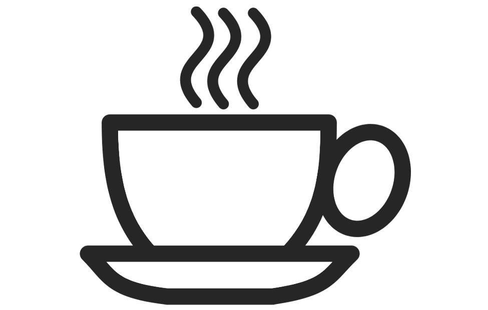 Taza De Cafe Dibujo Png: Dibujo Para Colorear Taza De Café
