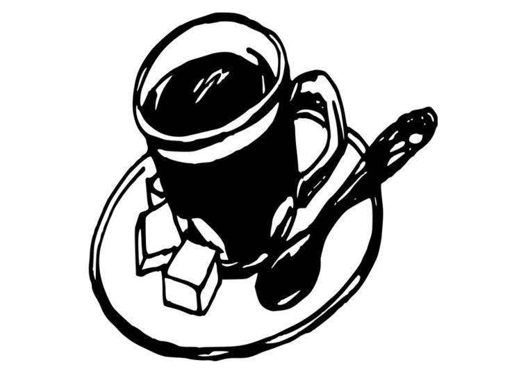 best Dibujo De Taza De Cafe Para Imprimir image collection