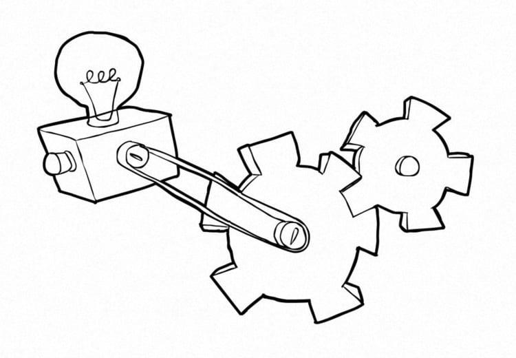 Dibujo Para Colorear Tecnología Dibujos Para Imprimir Gratis