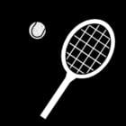 Dibujo para colorear Tenis