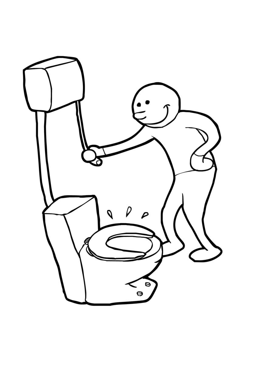 Dibujo para colorear tirar de la cisterna img 19199 - Dibujos para dibujar en la pared ...