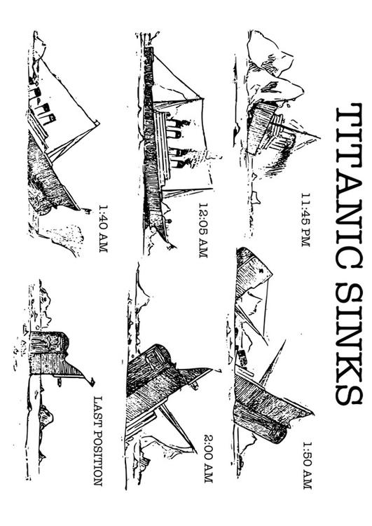 Dibujo Para Colorear Titanic Img 30097