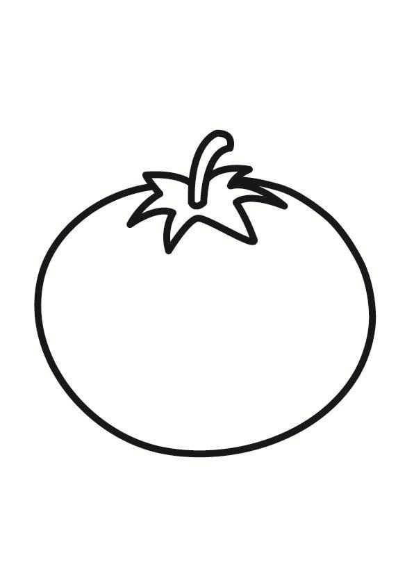 Dibujo Para Colorear Tomate Img 23243 Images