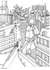 Dibujo para colorear Transformador manga