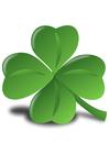 Imagen trébol irlandés - Shamrock