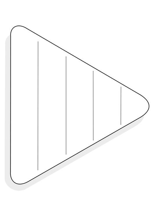 Dibujo De Un Triangulo Para Colorear Imagui