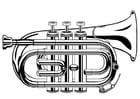 Dibujo para colorear Trompeta
