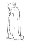 Dibujo para colorear túnica