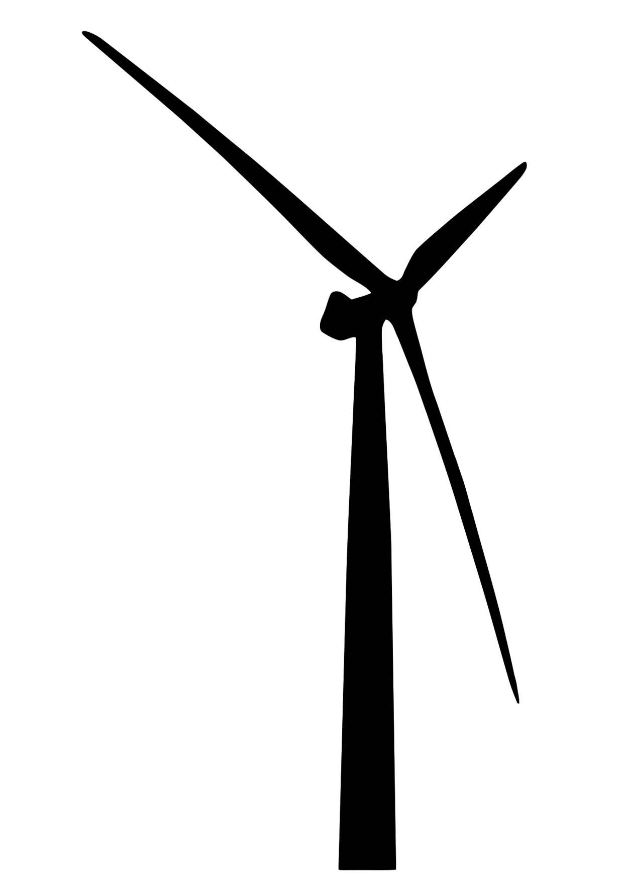 Dibujo Para Colorear Turbina De Viento Img 11442