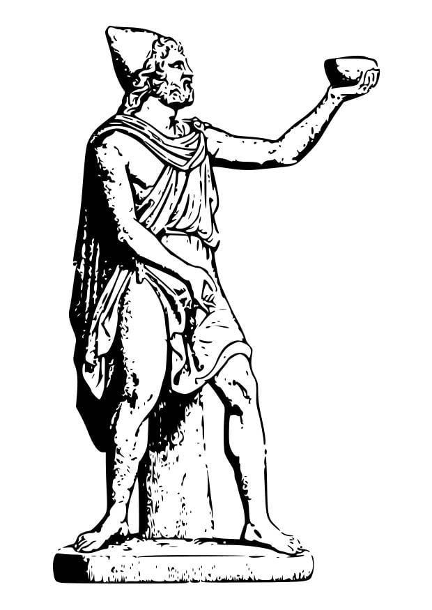 Dibujo para colorear Ulises - Img 18606