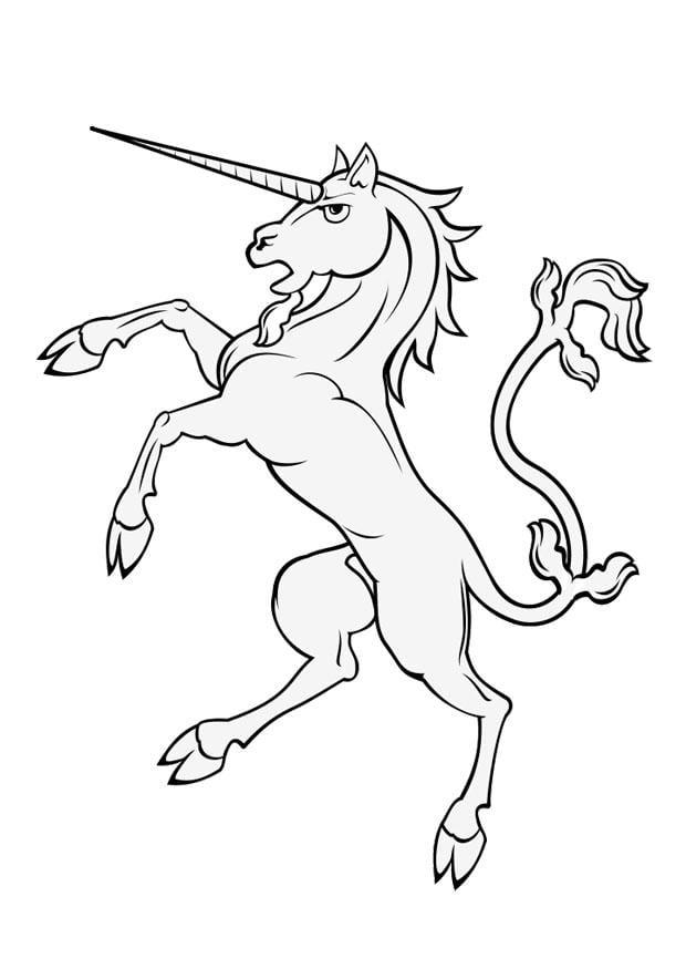 Dibujo Para Colorear Unicornio Img 28937