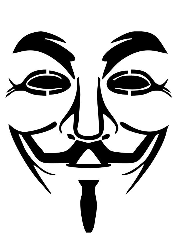 v for vendetta coloring pages - photo #2
