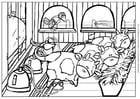 Dibujo para colorear Vaca