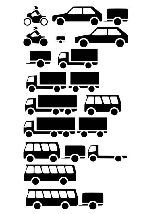 Dibujo para colorear vehículos - Img 26209