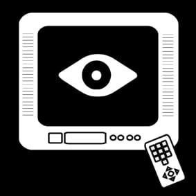 Dibujo Para Colorear Ver La Televisión Img 13561