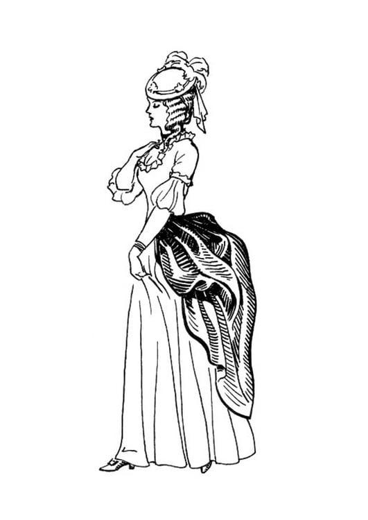 Dibujo Para Colorear Vestido Corset Img 18829