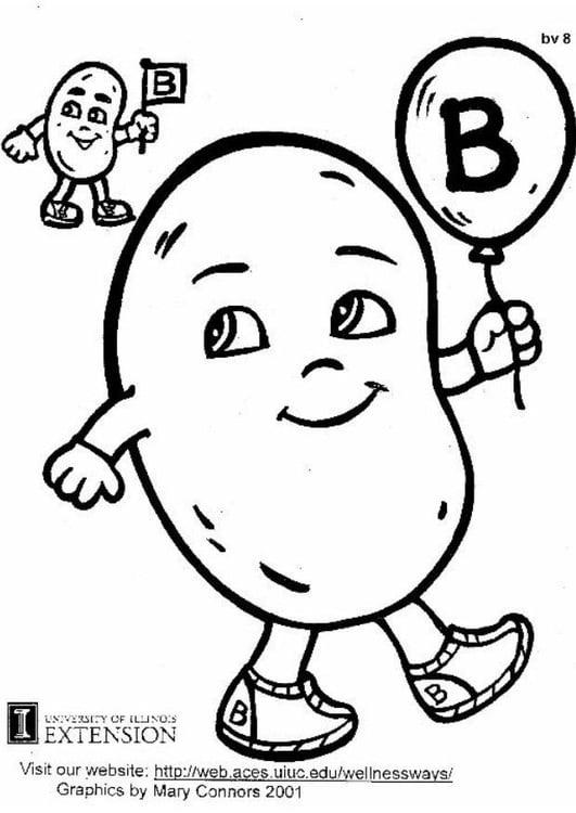 Dibujo Para Colorear Vitamina B Img 5936