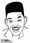 Dibujo para colorear Will Smith
