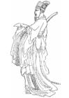 Dibujo para colorear Yen Kaoching