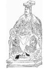 Dibujo para colorear Yue Fei