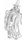 Dibujo para colorear Zhang Xun