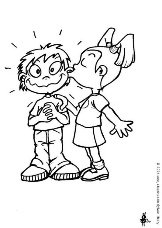 SEXOLOGÍA- El beso - Página 2 Es-colorear-dibujos-imagenes-foto-el-beso-p6578