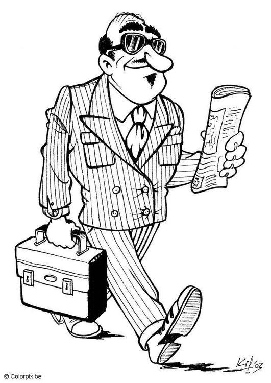 king´s daugther: Un hombre de negocios