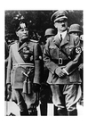 Foto Adolf Hitler y Mussolini