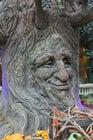 Foto árbol de cuento de hadas