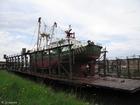 Foto Barco en el dique seco