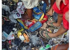 Foto Barrio marginal en Jakarta
