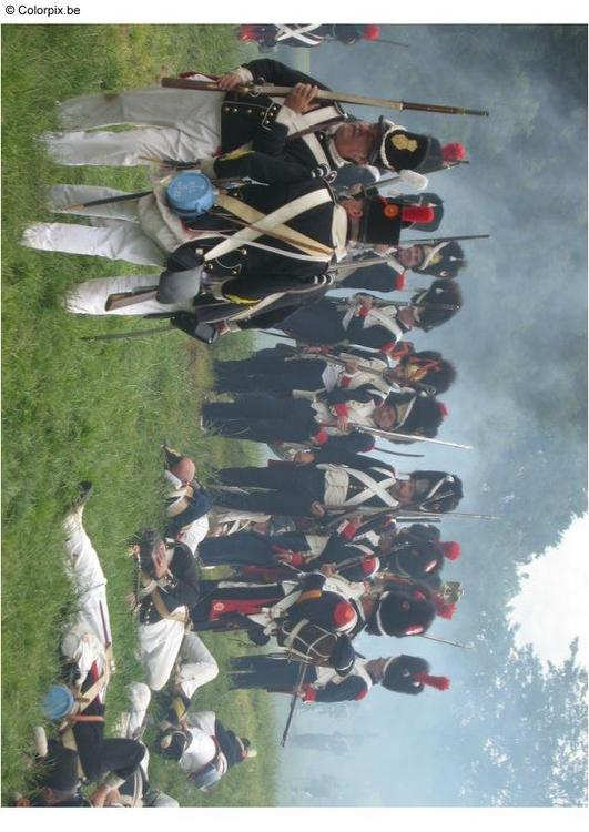 Batalla en Waterloo