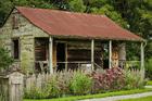 Foto cabaña para esclavos
