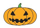 Imagen calabaza de Halloween