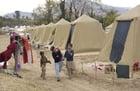 Foto campo de refugiados - Pakistán