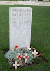 Foto Cementerio Tyne Cot - tumba de soldado alemán