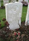 Foto Cementerio Tyne Cot - tumba de soldado judio