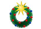 Imagen corona de Navidad