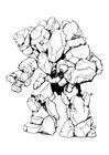 Foto Elemental de piedra - hombre de piedra