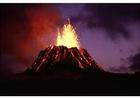 Foto Erupción de volcán