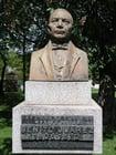 Foto estatua - presidente Benito Juárez